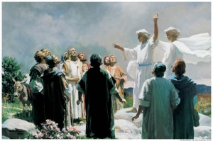 Ascension Resurrection Jesus Mormon